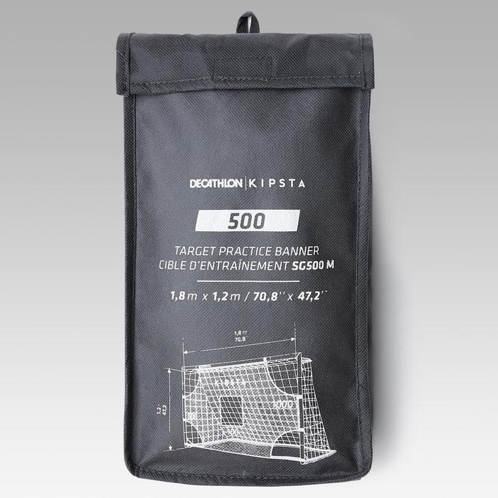 Target shot voor voetbaldoel SG500 maat M 1,8 x 1,20 m