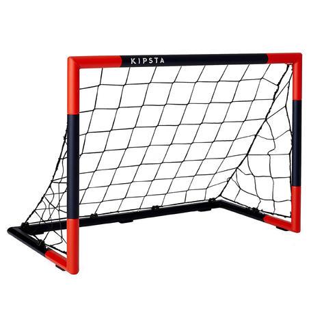 SG 500 Soccer Size 5 Goal Navy/Vermilion Red