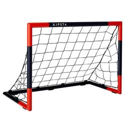 SG 500 Size 5 Football Goal - Navy/Vermilion Red