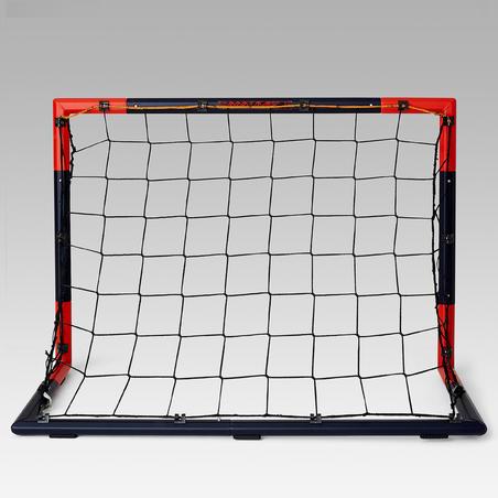 But de football SG 500 taille S marine rouge vermillon