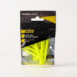 500 70mm PLASTIC TEE x10