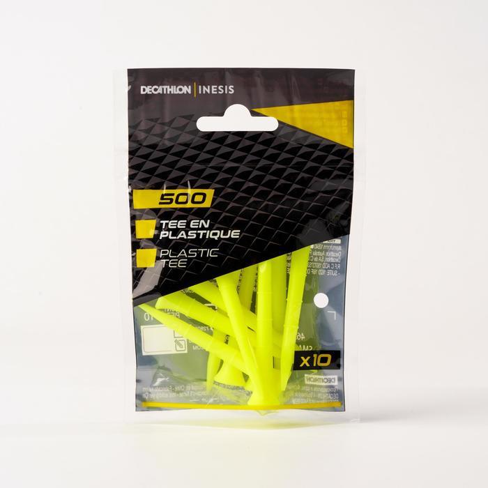 Plastic tee 500 x 10 70mm