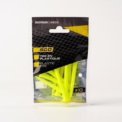 TEE PLASTIQUE 500 X10 70mm