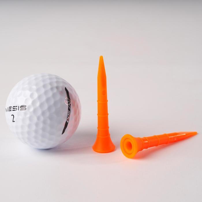 Golf Tees 500 Kunststoff 54mm 10 Stück