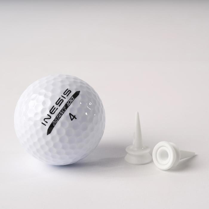 Golf Tees abgestuft 100 10 Stück 6mm
