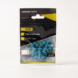 12mm 100 STEP TEE x10