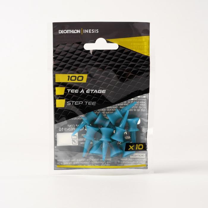 PLASTIC STEP TEE 100 X10 12mm