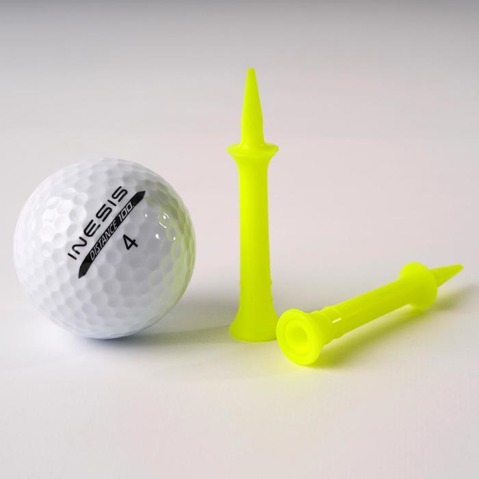 Golf Tees 100 abgestuft 46mm 10 Stück