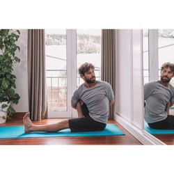Yogamatte für sanftes Yoga Essential 4 mm blau