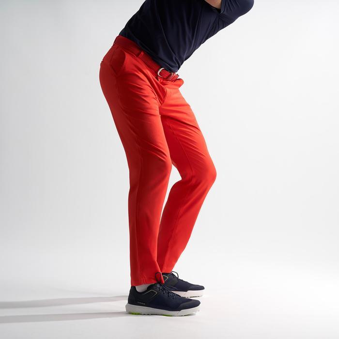 Golfhose Herren rot/koralle