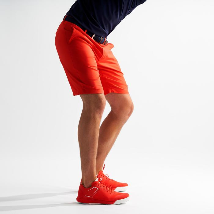 Bermuda golf homme respirant rouge