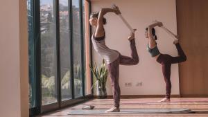 瑜珈教學:瑜珈繩