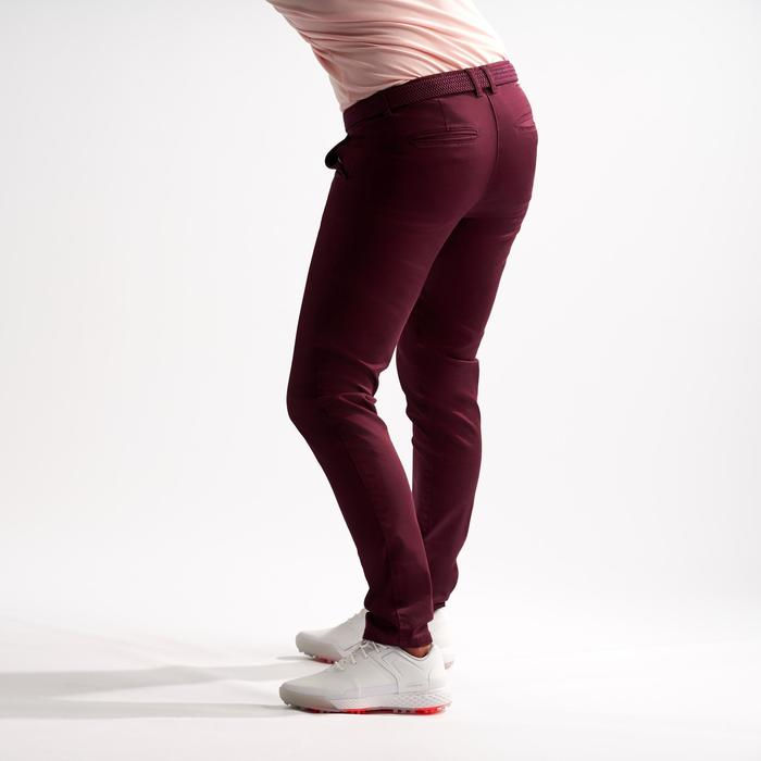 Golfbroek voor dames bordeaux