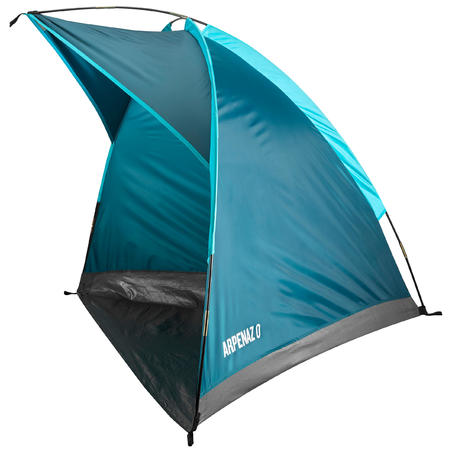 CAMPING SHELTER WITH POLE - ARPENAZ COMPACT - 1 ADULT OR 2 CHILDREN