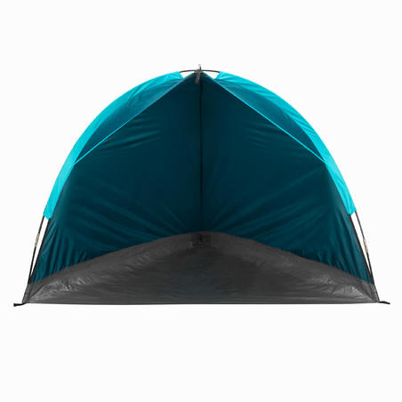 מחסה קטן עם מוטות לטיולים - כחול