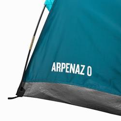ABRI À ARCEAUX DE CAMPING ET RANDONNÉE - ARPENAZ COMPACT - 1 ADULTE OU 2 ENFANTS