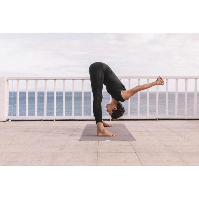 Esterilla Sobreesterilla Viaje Yoga Domyos 1,5 mm Beige
