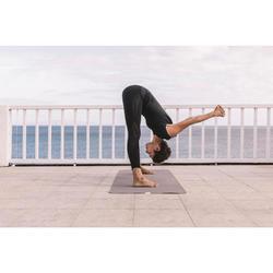 Leggings Yoga nahtlos Damen schwarz