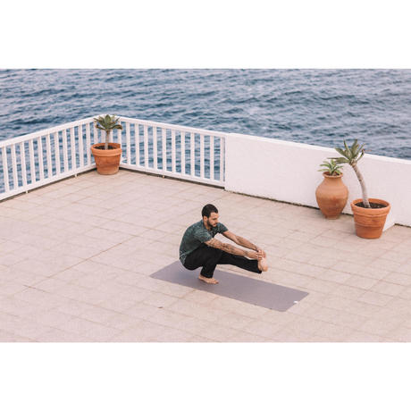Tapis Sur Tapis Yoga Voyage 15 Mm Beige Domyos By Decathlon
