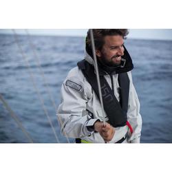 Heren smock Race Offshore grijs