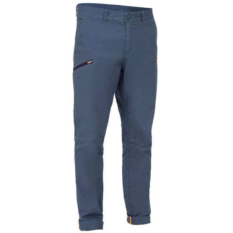 МЪЖКО ОБЛЕКЛО ЗА ТОПЛО ВРЕМЕ Ветроходно плаване - Мъжки панталон SAILING 10, сив TRIBORD - Мъжко облекло