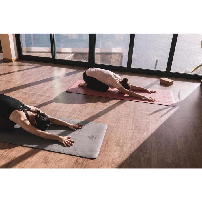 Esterilla Yoga Dinámico Domyos Estudio 5 mm Rosa