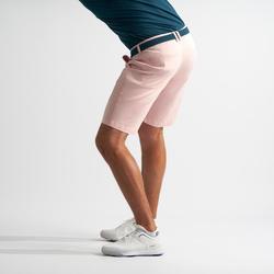 Golfbermuda voor heren lichtroze