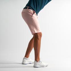 Bermuda de golf pour hommes rose pâle