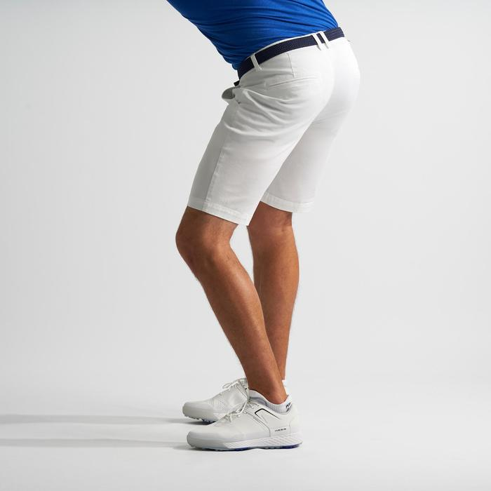 Bermuda de golf pour hommes blanc