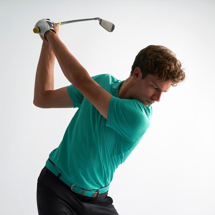 Golf Poloshirt Warmes Wetter Herren türkisgrün