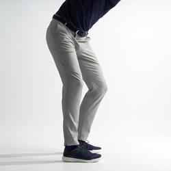 Ademende golfbroek voor heren grijs