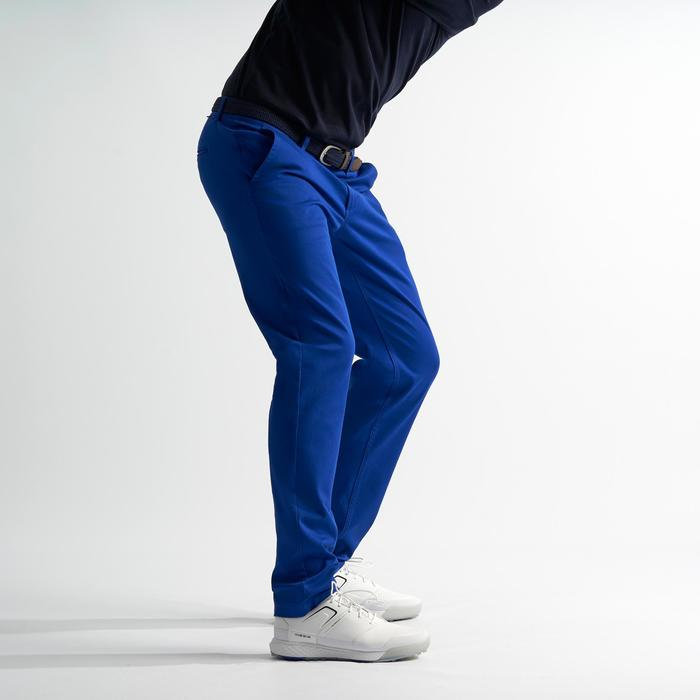 Golfbroek voor heren indigiblauw