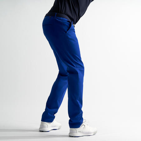 MEN'S MILD WEATHER GOLF TROUSERS ELECTRIC BLUE