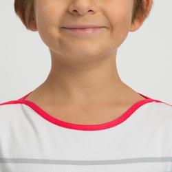 T-Shirt Manches longues SAILING 100 Fille Gris