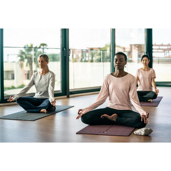 Bolsa Funda Esterilla Yoga Domyos Gris