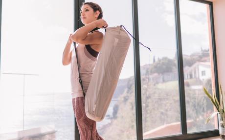 Entreposer un tapis de yoga