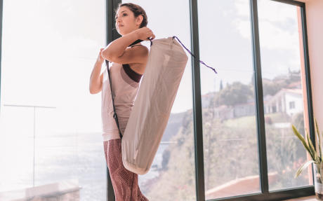 Yogamat opbergen