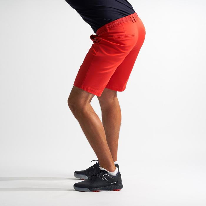 SHORT DE GOLF HOMME TEMPS TEMPERE ROUGE CORAIL
