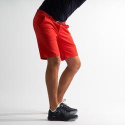 Short de golf pour hommes pour temps tempéré corail