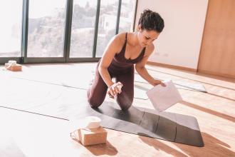 如何清潔保養瑜珈墊