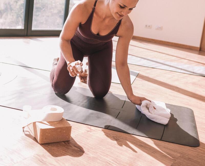 Yoga mat schoonmaken