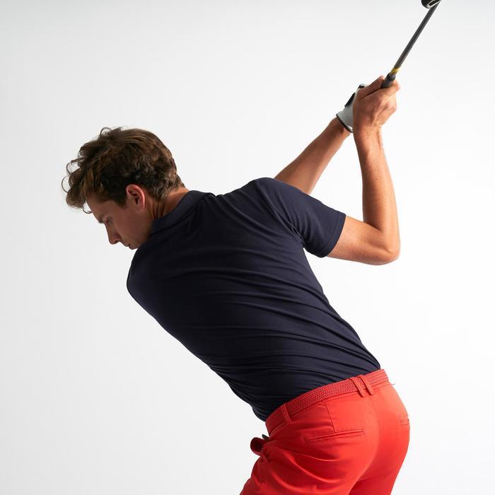 Golf Poloshirt kurzarm Herren marineblau