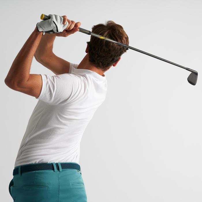 Golfpolo 500 met korte mouwen voor heren, zacht weer, wit