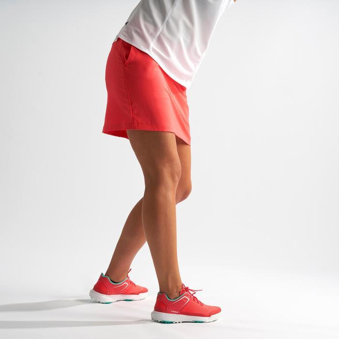 Golf Skort Damen rosa/Erdbeere