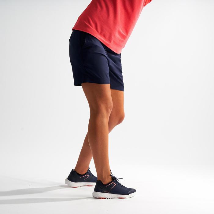 Golf shortrokje voor dames marineblauw