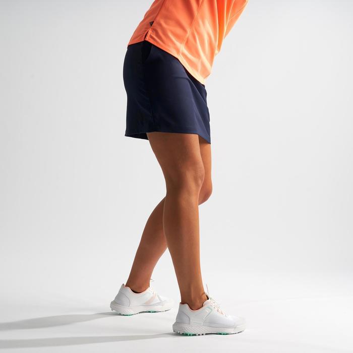 Golf Skort Damen marineblau