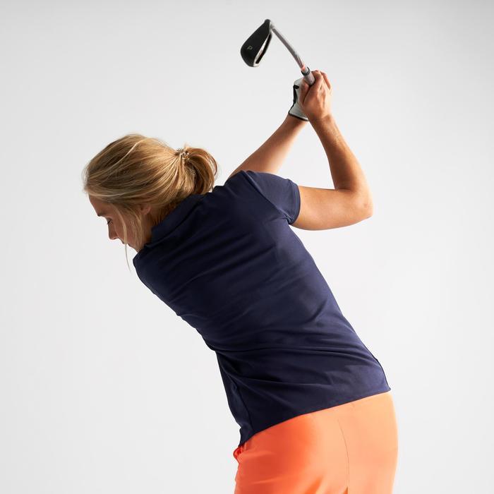 Golf Poloshirt Damen marineblau