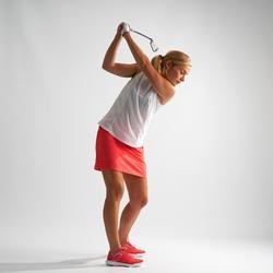 Golf Rock Damen rosa/Erdbeere