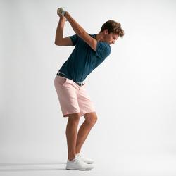Golfshort voor heren roze