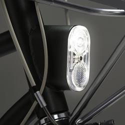 Producto Reacondicionado: Bicicleta Clásica Holandes Elops 520 Cuadro Alto Caqui